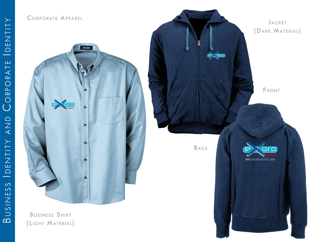 Company Jacket and Business Shirt