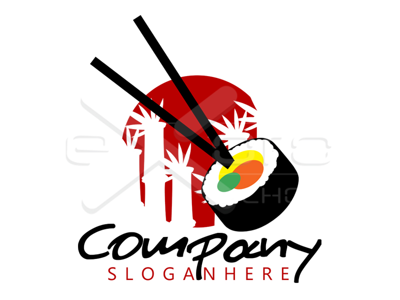Logo Design Japanese Restaurant